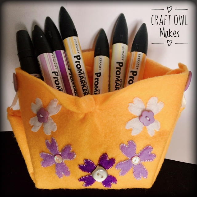 yellow lilac pouch promarkers